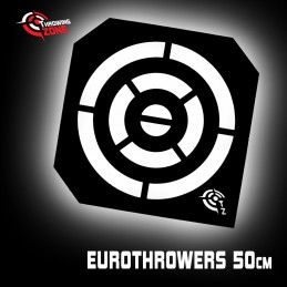 Pochoir cible Eurothrowers