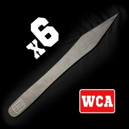 Coutanque WCA Naja - Kit de 6